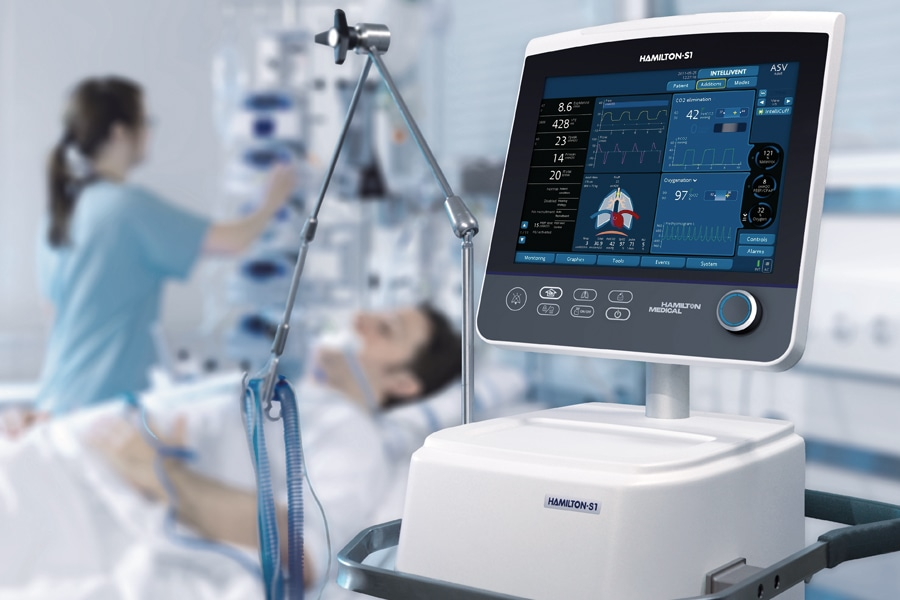 gas sensing in medical industry